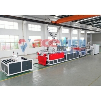 China PLC Thick 40mm 200KW 4m/Min Pvc Foam Board Machine on sale