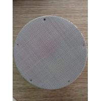 3-6 Multilayers Spot Welded Stainless Steel Filter Mesh Screen Round / Square Hole Manufactures