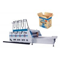 1 / 2 Color Flexo Printing Machine Cardboard Box Making Machine