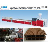 Wpc decking machine wpc outdoor decking extrusion machine for Garden decking for sale
