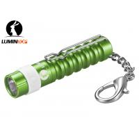Color Optional Cree LED Flashlight Adapts 1 AAA Battery with KeyChain