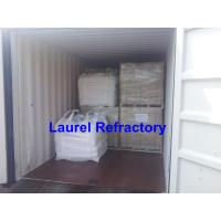 High Strength Unshaped Refractory Low Cement , Castable Refractory Material