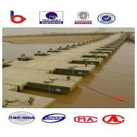 Reusable Floating Pontoon Bridge Inconvenient Traffic For Rivers Manufactures
