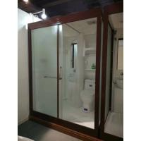 Matt Chrome Complete Shower Enclosures 120 X 150 X 210cm Complete Shower Cabins Manufactures