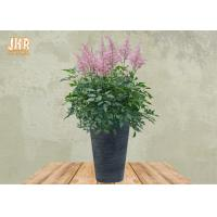 Outdoor Clay Flower Pots Homewares Decorative Items Large Clay Plant Pots Gray Color Manufactures