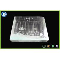 China Cosmetic Clear Plastic Folding Cartons , Biodegradable PVC Packaging Boxes on sale