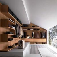 New Metal Plate Wardrobe Step-in Cloakroom  Exhibition hall display wardrobe Manufactures
