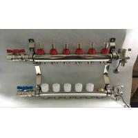 6 loop radiant Floor Heating Manifold for Floor Heating Systems & Parts Manufactures