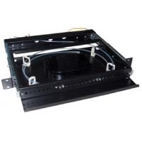 China Standard Odf Fiber Optical Distribution Cable Fixer Distributor Splicing Frame For Cabinet on sale