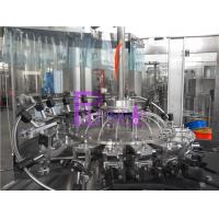 Tea Drink Juice Filling Machine Industrial Soft Drink Bottling Equipment With SGS Manufactures