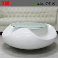 Brief Style Fiberglass Coffee Table Living Room Tea Table Fiberglass End Table Manufactures