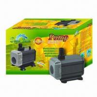 Buy cheap 1,400L/H 24W Multifunction Submersible Pond Pump with 110/220/240V Voltage and from wholesalers