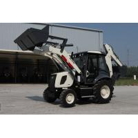Low price hydraulic 1m3 bucket backhoe loader AC and Joystick WZ30-25 Manufactures