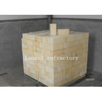 China Insulating Fire Bricks / High Alumina Refractory Brick For Glass Kiln on sale