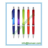 Quality logo branded gifts pen, retractable promo ball pen for sale