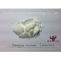 Raw White Material Livial Tibolone Weight Gain Anti Aging Steroids CAS 5630-53-5 Manufactures