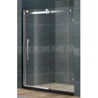 Frameless SlidingGlassShower Doors Nano Tempered Clear /  Frosted CE Certification Manufactures