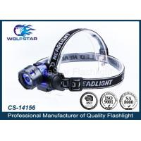 3W LED PMMA LEN high power LED Head Torch with 3 x AAA batteries Manufactures