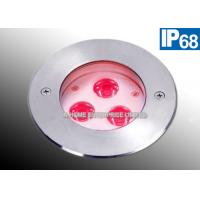 Swimming Pool Underwater LED Lights 3 W Stainless Steel Anti Corrosion