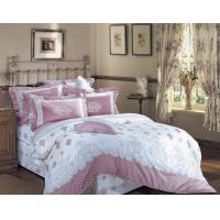 Quietly Elegant Design Sateen Cotton Bedding Sets , With Green Dyeing Manufactures