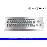 China IP68 Industrial Keyboard With Trackball For Industrial Desktop Designed on sale