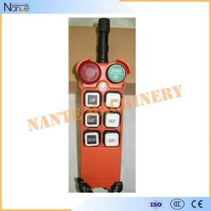 China F21-E1 6 Single Step Pushbuttons Wireless Hoist Remote Control 156x61x51mm on sale