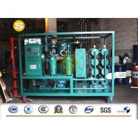 Two Stage Vacuum Mobile Transformer Oil Purifier And Purification Machine Manufactures