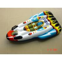 Customized high quality Blue PVC inflatable water skiing circle for kids