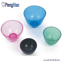 China dental mixing bowl/ Plaster plastic rubber mixing bowl for dental lab on sale