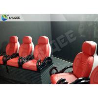 Truck Mobile 5D Cinema dynamic control system With 6 - 12 Seats Manufactures
