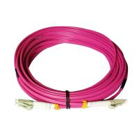Custom Multimode Optical Fiber Patch Cord Duplex ST To LC Patch Cord Manufactures