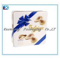 China Square Cookie Tin Box Candy Tin Box Wholesale on sale