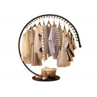 Creative Shaped Apparel Display Racks With Metal Base For Shopping Mall Manufactures