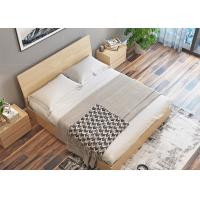 Elegant Hotel Style Furniture Bed Melamine Laminated Board With PVC Edge Manufactures