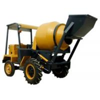 Buy cheap Mobile 4x2 Self Loading Concrete Mixer 680L Drum 200L Concrete Mixture Machine from wholesalers