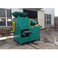 Double Shaft Mixer Charcoal Briquette Making Machine , Briquette Extruder Machine Manufactures