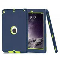 3 in 1 Rugged Hybrid Shockproof Heavy Duty Rubber Tablet Case Cover For  iPad Pro 9.7