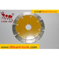 110mm Diamond array cutting saw blade for hard stone Manufactures