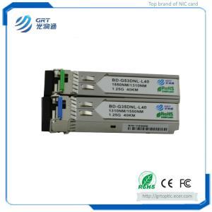 China Brand New BD-G35DNL-L40 1.25G 1310/1550nm 40km BiDi Bi directional Optical Module on sale