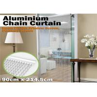 China Aluminum Chain Insect Door Fly Screen Curtain for House Decoration on sale