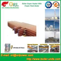 Fire Tube Boiler Superheater / Super Heaters For Petroleum Industry