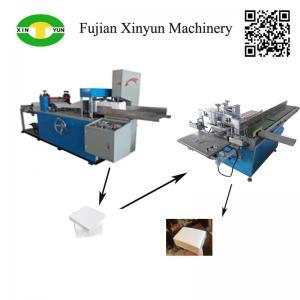 Hot sale semi automatic napkin tissue paper machine production line Manufactures