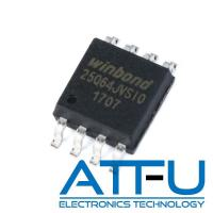 China 133Mhz Clock Frequency IC Circuit Board , W25Q64JVSSIQ 64M BIT Dual Quad SPI / QPI on sale