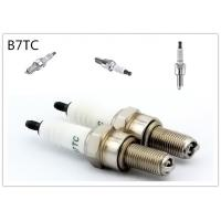 platinum Material two wheeler spark plug 19mm Reach Flat Seat 7 Heat Range Manufactures