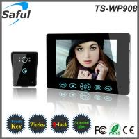 China Wholesale 2014 first 9 inch apartment wireless video door phone intercom system in the world on sale