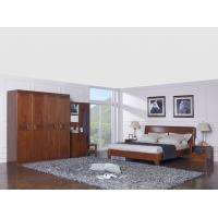 Quality New design Nanmu Solid wood Bedroom furniture set By ISO9001 and FSC china good for sale
