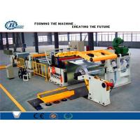 Custom Cold Rolled Steel Coil Galvanized Metal Slitting Line With 10-16m/min Speed Manufactures
