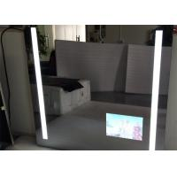 Rectangle Bathroom Mirror LED TV Wall Mounted 1920 X 1080 Resolution Manufactures