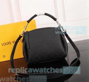 China LV Babylone BB Black Genuine Leather Ladies Louis Vitton shoulder bag&handbag on sale
