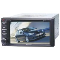 China 6.95Fixed Double Din DVD for TOYOTA Universal - USB Port and SD/MMC Card Slot - Playback DVD/MP on sale